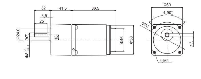 MS206-402-W com Redutor